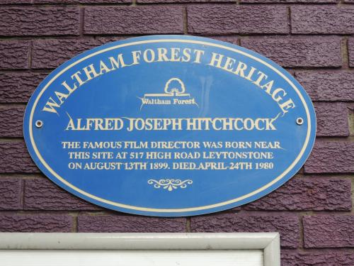 Alfred Hitchcock's birthplace (Site of)