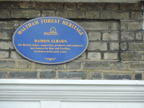 Damon Albarn's childhood home