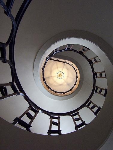 Spiral Staircase, Versailles, September 2005
