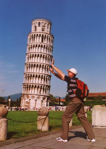 I have fear that Pisa Tower fall down