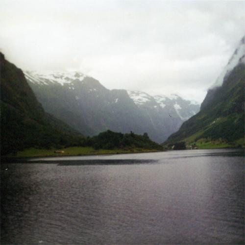 In the Nærøyfjord North of Undredal, July 2001