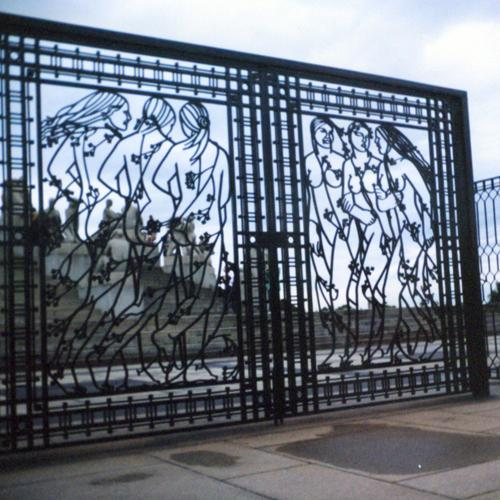 Iron Gate, Southeast Side of the Monolith, July 2001