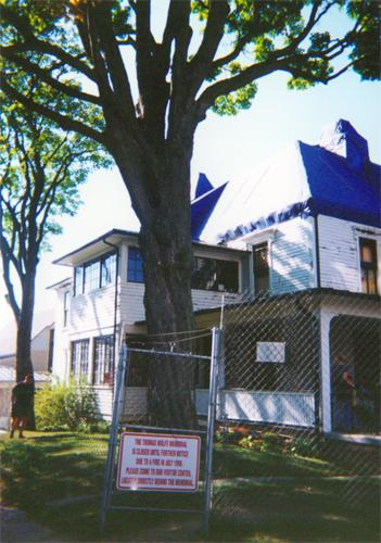 Thomas Wolfe House, October 2000