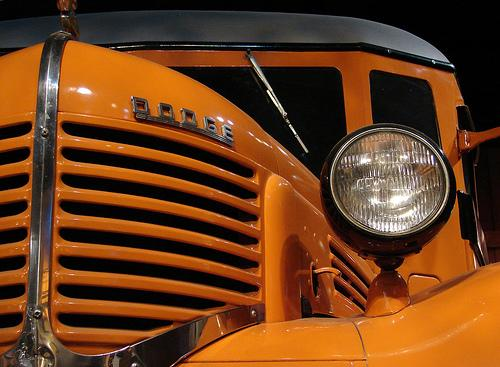 1939 Carpenter/Dodge School Bus, America on the Move Exhibit, NMAH, July 2006