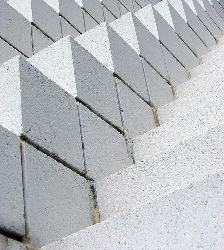 Sol LeWitt's Four-sided Pyramid, July 2006