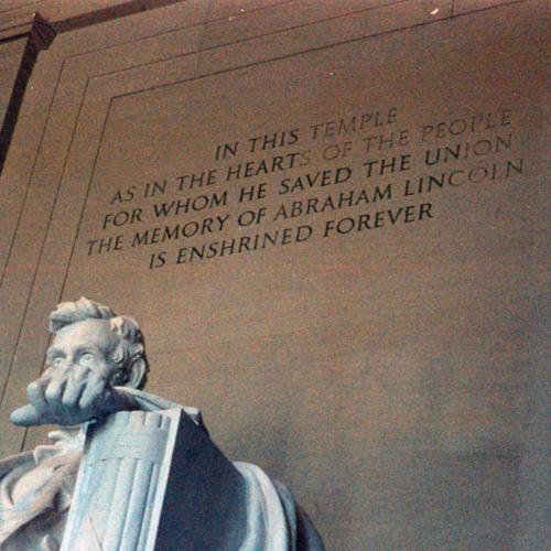 Lincoln Memorial, October 2001
