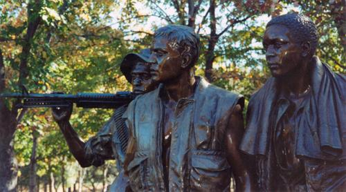 Vietnam Veteran's Memorial, October 2001