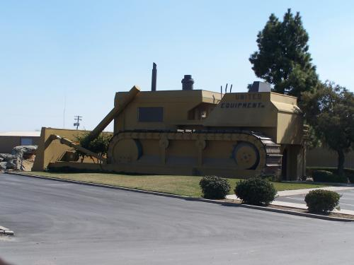 Giant Bulldozer Office