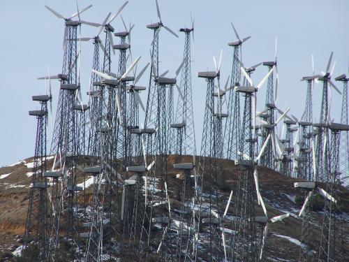 Tehachapi Pass Wind Farm In Mojave Ca Virtual Globetrotting