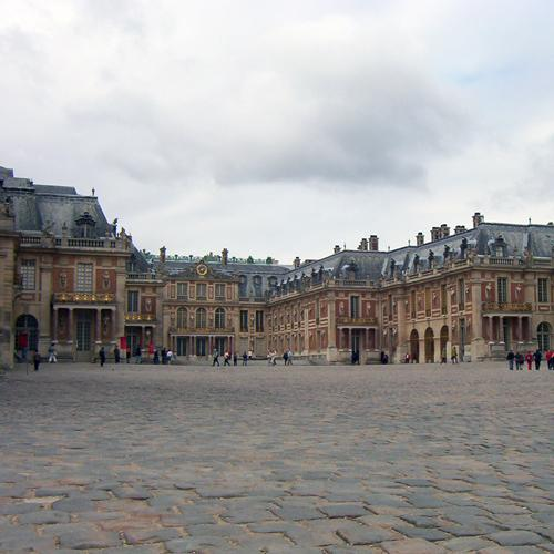 Palace of Versailles, exterior, September 2005