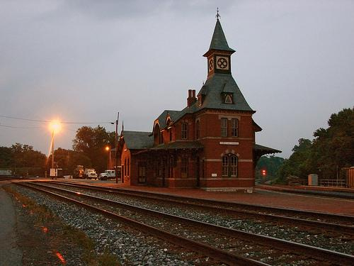 Point of Rocks Train Station