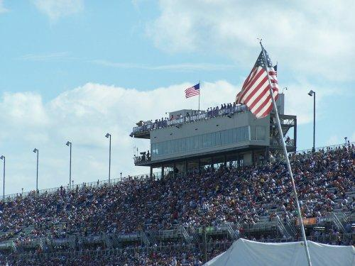Milwaukee Mile grandstands
