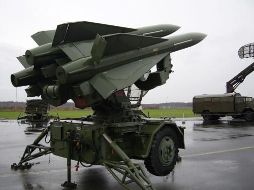 "MIM-23 ""HAWK\"" - Batterie on Static Display"