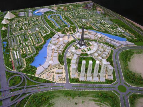 dubailand site in dubai united arab emirates virtual