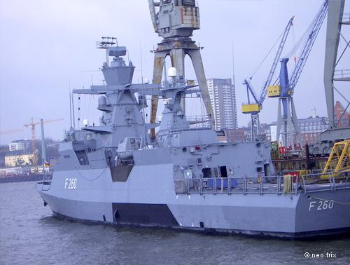 F260 Braunschweig (March 2009 in Hamburg)