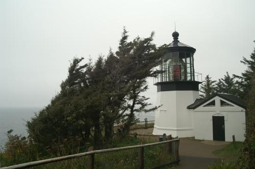 Cape Mears light from the ground