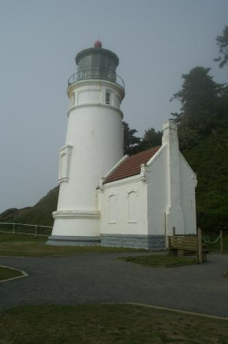Outside Heceta Head Light