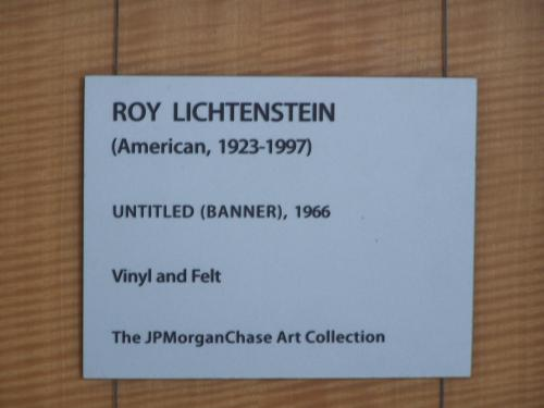 Untitled (Banner) by Roy Lichtenstein