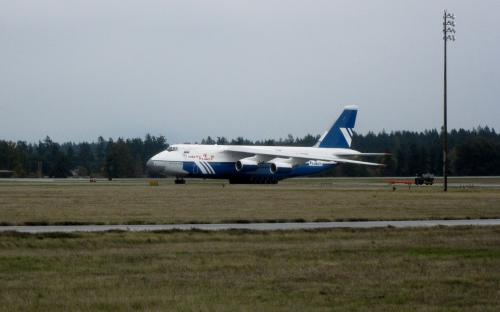 Taxiing AN-124 at McChord AFB