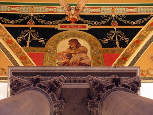 Great Hall, Jefferson Building, Library of Congress, January 2006