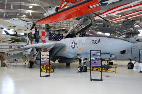 F-14 Tomcat in the New Hangar