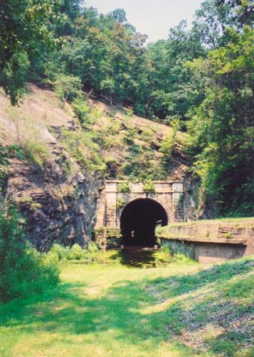 Paw Paw Tunnel, South Portal, August 2002