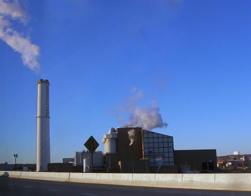 Wheelabrator Baltimore Waste To Energy Facility In