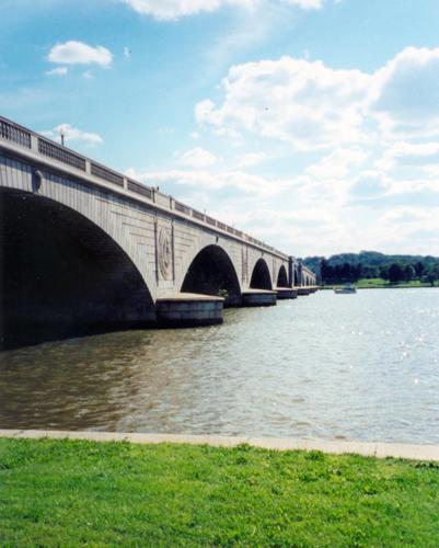 Arlington Memorial Bridge, May 2002