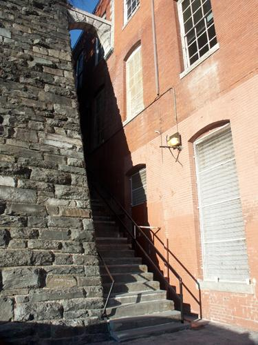 Exorcist Stairs, February 2006
