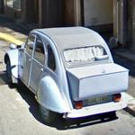 Citroën 2CV (Style boot extension) (StreetView)