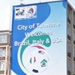'City of Tshwane Welcomes Brazil, Italy & USA' (StreetView)