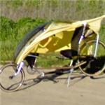 Faired recumbent bicycle