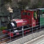 Llanberis Lake Railway train