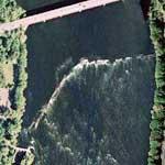 Enfield Dam (Google Maps)