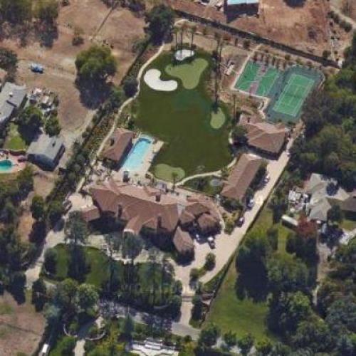 Biggest House Ever >> Lynsi Snyder's House in Bradbury, CA (Google Maps) (#2)