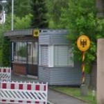 German/Swiss Border station
