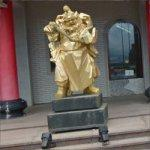 Golden Statues