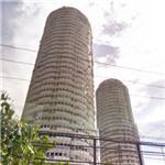Abandoned skyscrapers (StreetView)