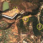 North Korean Military Base with AAA Batteries (Google Maps)