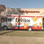 Dorito's Truck at Walgreen's (StreetView)