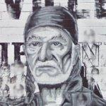 Willie Nelson mural