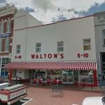 Birthplace of Wal-Mart (StreetView)