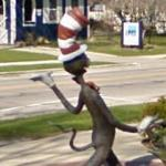 Cat in the Hat Statue (StreetView)