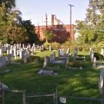 Camera Shot of Cemetary in North Arlington From Soprano's Opening Theme