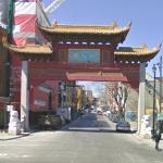Chinatown paifang