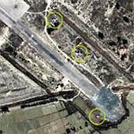 3 Kaput Aircraft at Afghan Airstrip (Google Maps)