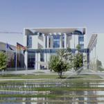 Bundeskanzleramt (German Prime Minister's Office) (StreetView)