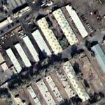 Camouflaged Warehouses In Baghdad (Google Maps)