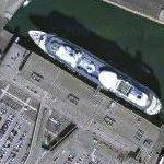 Cruise Ships Near LA Harbor (Google Maps)