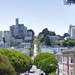 Lombard Street - Russian Hill from Telegraph Hill